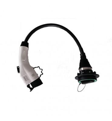 Adaptor cablu Type 2 la Type 1 AD 12/32