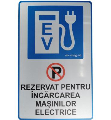 Indicator spatiu rezervat pentru incarcare EV